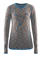 Фото - Блуза CRAFT Active Comfort RN LS Woman Typhoon/Poppy разм. L