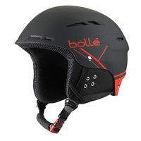 Фото - Шлем г/л BOLLE B-FUN SOFT BLACK & RED разм. 58-61