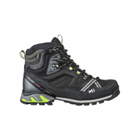 Фото - Ботинки MILLET HIGH ROUTE GTX CHARCOAL/ACID GREEN разм. 10,5