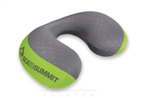 Фото - Подушка SEA TO SUMMIT Aeros Premium Pillow Traveller Lime (Green/Grey)