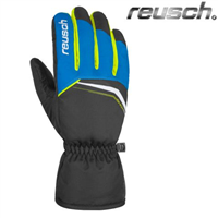 Фото - Перчатки г/л Reusch Snow King ACID YELLOW разм. 9,5