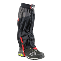 Фото - Гетры MILLET HIGH ROUTE GAITERS BLACK/RED разм. M
