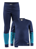 Фото - Комплект белья CRAFT BASELAYER SET JUNIOR MARITIME/ZEN разм. 122/128