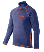 Фото - Пуловер HALSA GOLF MEN navy melange/orange разм. L