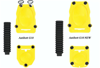 Фото - spare cramp G10 NM/NC front plastic parts 2x