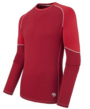 Фото - Блуза Micro Power Stretch LS Crew - M Thunderbird Red / Red разм. XL